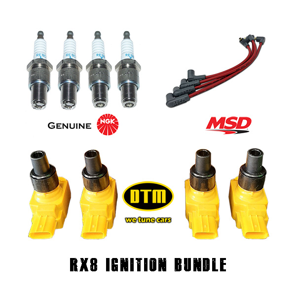 RX8 Ignition Bundle DTM-MSD-NGK