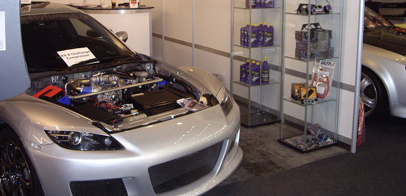 Supercharged RX8 Tuning